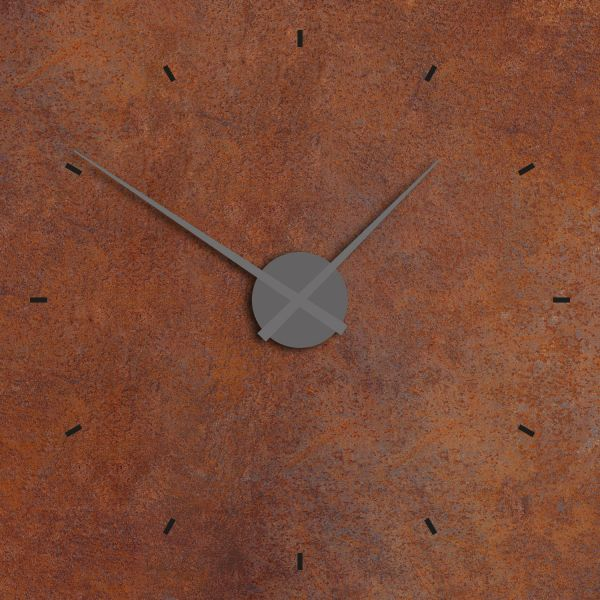 """Big brown clock"" Uhr-Dekopad"