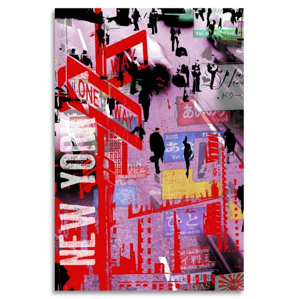 """New York One"" Acrylglasbild"