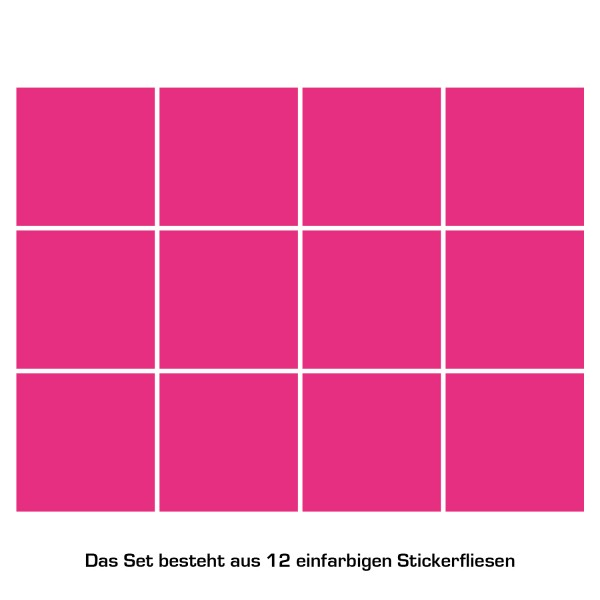 Color Pink 12er-Set
